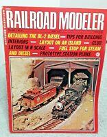Railroad Modeler Magazine April 1973 Z N HO S O G vintage