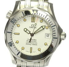 OMEGA Seamaster300 2552.20 Date White Dial Automatic Boy's Watch_540916