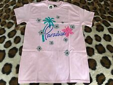 NEW Paradis3 DSM exclusive Bullets in Paradise men tee sz S Pink shibuya supreme