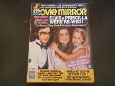 Farrah Fawcett, Elvis Presley, Donny Osmond - Movie Mirror Magazine 1979