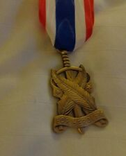 U.S ARMY ROTC, BRONZE HEROISM MEDAL, FULL SIZE, CURRENT MANUFACTURE NO BROOCH