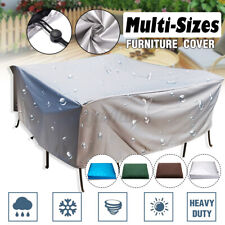 Garden Patio Furniture Covers Waterproof for Table Bench Hammock Chiminea Bbq