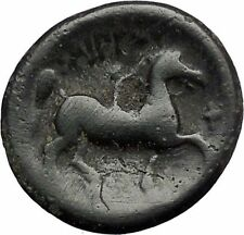 Philip II Alexander the Great Dad OLYMPIC GAMES Ancient Greek Coin Horse i49258