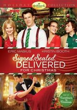 SIGNED SEALED DELIVERED FOR CHRISTMAS DVD Hallmark Channel Xmas Family Film Show