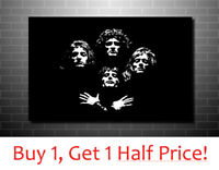 QUEEN CANVAS WALL ART : *Ready To Hang* POP ART BOX CANVAS POSTER PRINT