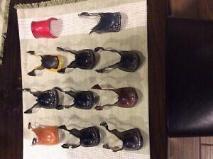 Hartland western saddles for figures
