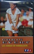 CHRIS EVERT - LES ADIEUX DE WIMBLEDON - VHS RARE - 1989