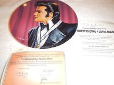 "Delphi Elvis Commemorating the King plate series  ""Outstanding Young Man"" 7th"