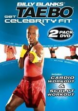 Billy Blanks Tae Bo EXERCISE DVD Celebrity Fit Sculpt and Cardio - 2 Workouts