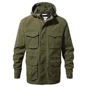 Craghopper Men's NosiLife Forester Waterproof Jacket, Medium NEW RRP £180.00