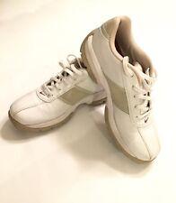 Nike Womens SP-3 Saddle Golf Shoes Sz 6.5  Medium White Tan 309888-161, EUC