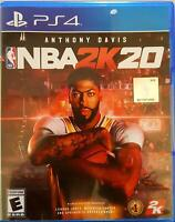 NBA 2K20 - PS4 Sony PlayStation 4 Basketball Game Brand New Factory Sealed
