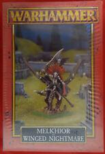 Warhammer - GW, Citadel - Melkhior on winged nightmare (Mint, Sealed)