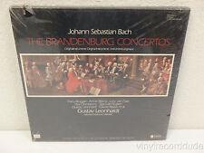 GUSTAV LEONHARDT Bach:Brandenburg Concertos FACTORY SEALED BOX SET ABC Seon 1977