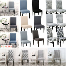 Universal Dining Chair Covers Removable Slipcovers Wedding Banquet Decor 1-8x