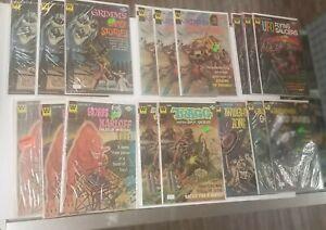43 Comic Book Lot Whitman Star trek Boris Lost in space etc