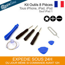 KIT OUTIL DEMONTAGE TOURNEVIS IPHONE 3 4 5 6 6S 6+ IPAD IPOD SAMSUNG TABLETTE