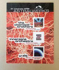 Chemical Brothers Coachella Gig Card 1999