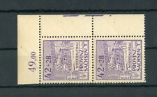 SBZ Nr.89A F10/20 ** ECKRANDPAAR ABART HANDBUCH KÖHNE EURO 60,-++ (129146)