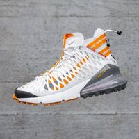 Nike Air Max 270 ISPA Off White Orange UK 7 US 8 Force 1 90 95 OG 97 ACG WR 98