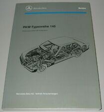 Werkstatthandbuch Mercedes S-Klasse W 140 300 3.2 400 500 600 SE SEL V12 Buch!
