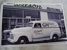 1949 1950 Chevrolet Panel Truck Gm Parts 11 X 17 Photo Picture