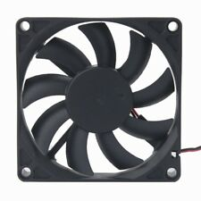 Silent 12V 8cm 80mm 80x80x15mm Brushless PC CPU Case Cooling Cooler Fan 2pin