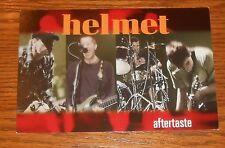 Helmet Aftertaste Postcard Original Promo 4x6