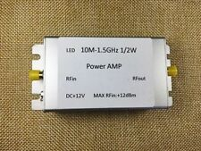 New 10M-1.5Ghz Rf Wideband Power Amplifier 32dB Gain Shielded Output