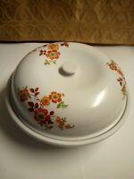 Antique VTG  Stoneware Pottery USA Serving Bowl  Glaze