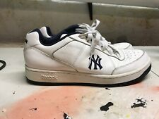 Reebok Authentic New York Yankees Athletic Shoes Sneakers Size 13 White Navy