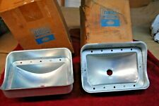 67 68 NOS FORD MUSTANG PAIR TAIL LIGHT HOUSINGS C7ZZ 13440 A FLAWLESS CORRECT