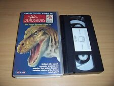 Dinosaurs - The Official Video Of The Natural History Museum (VHS, 1997, Video