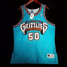 100% Authentic Bryant Reeves Champion Grizzlies NBA Jersey Sz 48 XL - rahim