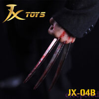 HOT FIGURE TOYS jxtoys 1/6 Wolverine's paw model With Blood edition