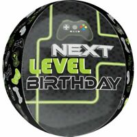 Good Quality & Highly Durable Level Up Birthday Orbz Foil Balloons.