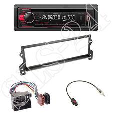 Kenwood kdc-120ur Radio + mini r50 r52 r53 1-din - Cache noir + Adaptateur ISO