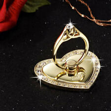 Universal 360 Rotating Finger Ring Stand Holder For All Cell Phone - GOLD HEART
