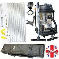 BUSINESS START UP OPPORTUNITY Gutter Cleaning Vac 36ft Pole Kit Holdall Camera