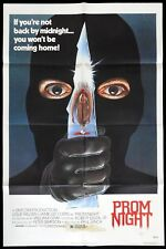 PROM NIGHT Original US One sheet Movie Poster Horror Jamie Lee Curtis