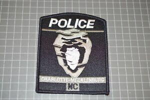 Charlotte-Mecklenburg North Carolina Police Patch (B17-A11)