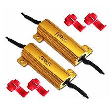 2x LED Lastwiderstand CANBUS 50 Watt 6 Ohm Widerstand Error Canceler