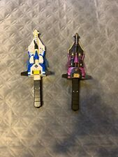 Transformers RID Armada STAR AND DARK SABER Role Play Sword Hasbro 2002 WORKS