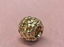 PANDORA | 14K GOLD FLOWER POWER CHARM *NEW* 750297 AUTHENTIC RARE RETIRED 585ALE