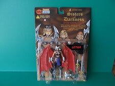 """LIGHTNING COMICS SISTERS OF DARKNESS SEXY """"LETHA"""" 6""""IN FIGURE SKYBOLT 1998"""