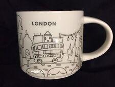 Starbucks London YAH Mug Christmas 2017 Big Ben Tower Cup Holiday You Are Here