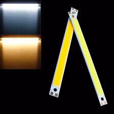 60x8mm Warm/Cool White 1W COB Chip Strip Bar Lamp LED Panel Light DC 3V