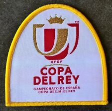 Patch Espagne Copa Del Rey maillot foot Real Madrid, Barcelone de 2015 a 2018