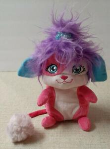 "2015 Spin Master 8"" Popples Sunny Plush Toy *Pink Purple Flip & Fold"