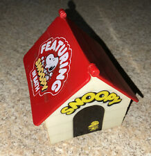 Vintage Aviva Toy Peanuts Snoopy Doghouse Featuring Snoopy in Bath